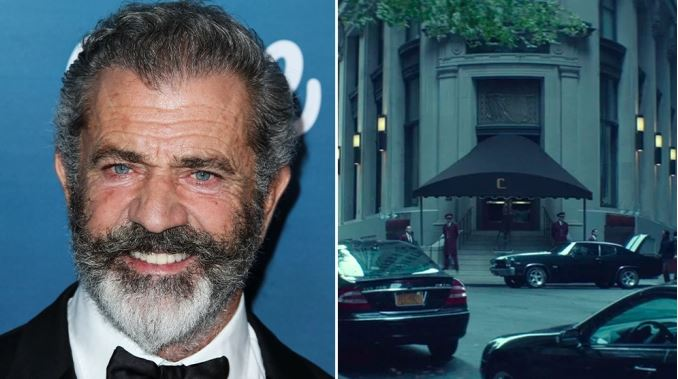 Poster Mel Gibson First Star Set For 'John Wick' Origin Series 'The Continental' For Starz & Lionsgate Television